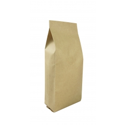 1 lb Gusseted Bag- Kraft with Valve(FQ-10617D)