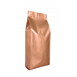 1 lb Gusseted Bag- Glossy Bronze with Valve(FQ-10619D)
