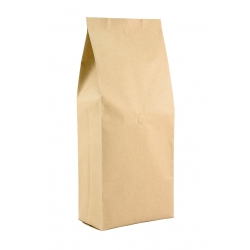2.2lb Gusseted Bag- Kraft with Italy Valve(FQ-30107A)