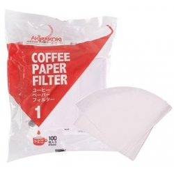 V-type Filter paper-white(1-2 cup)