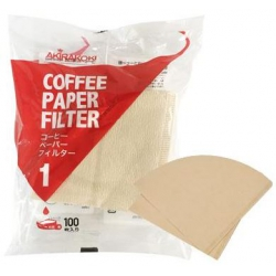 V-type Filter paper-brown(1-2 cup)