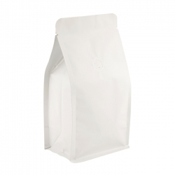 1/2lb Box Pouch-Matte White with Valve(FQ-26808MD)