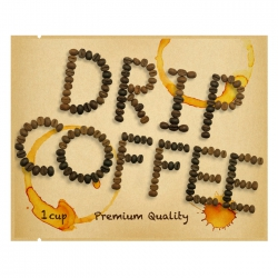 Drip Coffee Bag-Beans Pattern-Kraft(FE-39607)