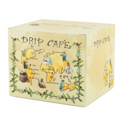 Drip Coffee Box-World Map Pattern(FQ-321)