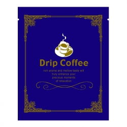 Euro Series Drip Coffee Bag-Blue(FQ-35202)