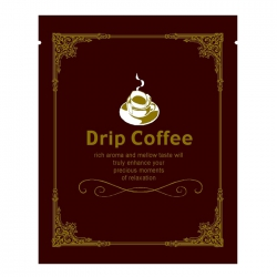 Euro Series Drip Coffee Bag-Brown(FQ-35204)