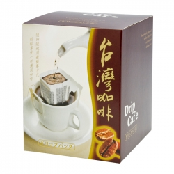 Brew-Up Taiwan Coffee Series Drip Coffee Box-Brown(FQ-366A台灣