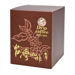 Fruits Taiwan Coffee Series Drip Coffee Box-Brown(FQ-381M台灣0