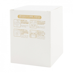 Matte Plain Series Drip Coffee Box-White(Diamond Type)