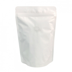 1/4lb Stand Up Bag - White Kraft with Valve(FQ-24107WD)