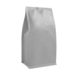1/2lb Box Pouch-Matte Gray with Valve(FQ-26818MD)