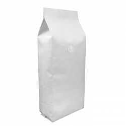 1/4lb Gusseted Bag- White Kraft with Valve(FQ-34107WD)